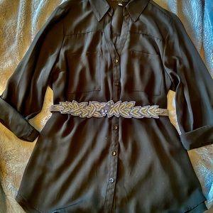 Black dressy Blouse from Macys BCX line